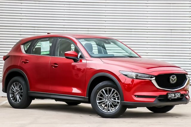 Demo Mazda CX-5 KF2W7A Maxx SKYACTIV-Drive FWD Sport, 2019 Mazda CX-5 KF2W7A Maxx SKYACTIV-Drive FWD Sport Soul Red Crystal 6 Speed Sports Automatic Wagon