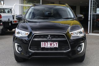 2016 Mitsubishi ASX XB MY15.5 XLS 2WD Black 6 Speed Constant Variable Wagon