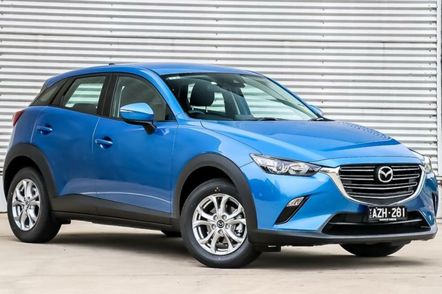 Demo Mazda CX-3 DK2W7A Maxx SKYACTIV-Drive FWD Sport, 2019 Mazda CX-3 DK2W7A Maxx SKYACTIV-Drive FWD Sport Dynamic Blue 6 Speed Sports Automatic Wagon