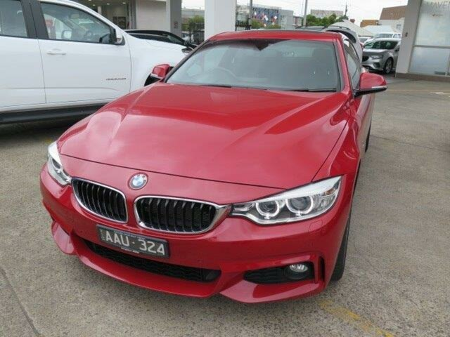 Used BMW 435i F32 , 2013 BMW 435i F32 Red/Black 8 Speed Sports Automatic Coupe