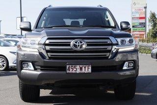 2016 Toyota Landcruiser VDJ200R VX Graphite Grey 6 Speed Sports Automatic Wagon