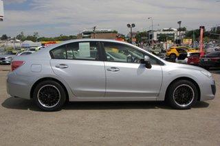 2013 Subaru Impreza G4 MY13 2.0i AWD Silver 6 Speed Manual Sedan.