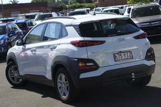2017 Hyundai Kona OS MY18 Active D-CT AWD Chalk White 7 Speed Sports Automatic Dual Clutch Wagon.