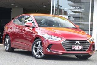 2015 Hyundai Elantra MD3 Elite Red 6 Speed Sports Automatic Sedan.