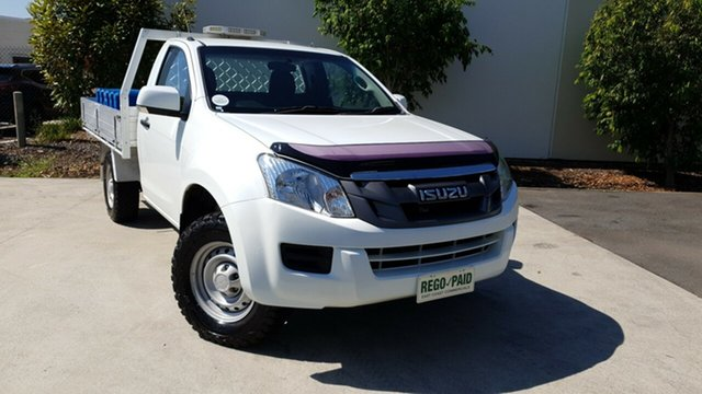Used Isuzu D-MAX MY15 SX 4x2 High Ride, 2015 Isuzu D-MAX MY15 SX 4x2 High Ride White 5 Speed Sports Automatic Cab Chassis