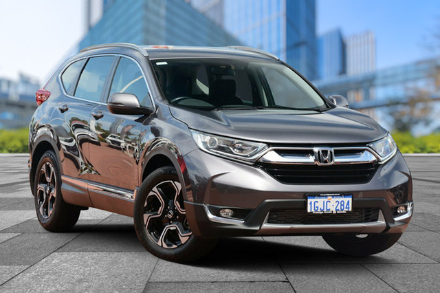 Demo Honda CR-V RW MY18 VTi-S 4WD, 2017 Honda CR-V RW MY18 VTi-S 4WD Modern Steel 1 Speed Constant Variable Wagon