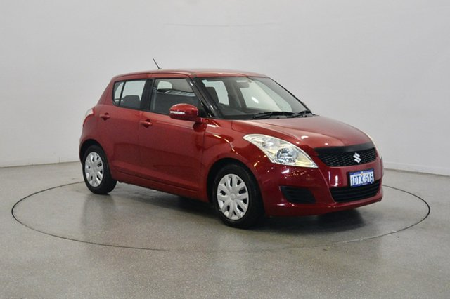 Used Suzuki Swift FZ GL, 2011 Suzuki Swift FZ GL Red 4 Speed Automatic Hatchback