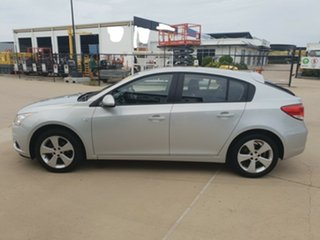 2013 Holden Cruze JH Series II MY13 Equipe Silver 6 Speed Sports Automatic Hatchback