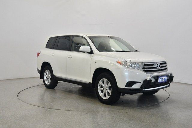 Used Toyota Kluger GSU45R MY12 KX-R AWD, 2013 Toyota Kluger GSU45R MY12 KX-R AWD Pearl White 5 Speed Sports Automatic Wagon