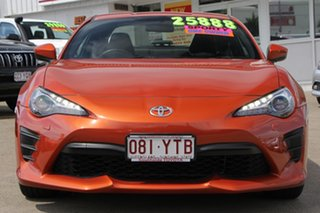 2016 Toyota 86 ZN6 GT Orange 6 Speed Manual Coupe