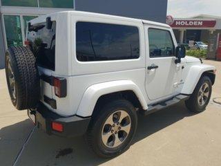 2018 Jeep Wrangler JK MY18 Overland White 5 Speed Automatic Hardtop.