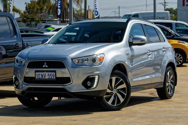 Used Mitsubishi ASX XB MY15 LS 2WD, 2014 Mitsubishi ASX XB MY15 LS 2WD Silver 6 Speed Constant Variable Wagon