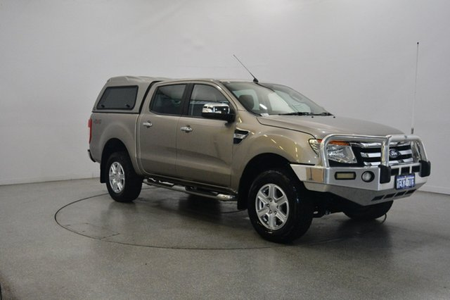 Used Ford Ranger PX XLT Double Cab, 2013 Ford Ranger PX XLT Double Cab Gold 6 Speed Manual Utility