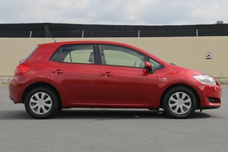 2007 Toyota Corolla ZRE152R Ascent Red 4 Speed Automatic Hatchback.