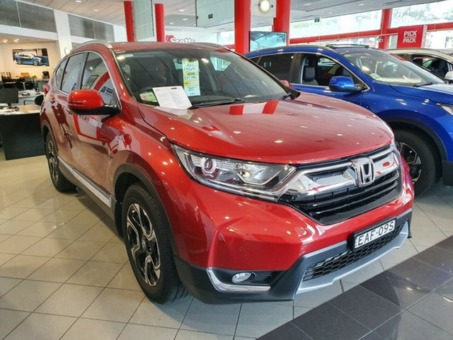 Demo Honda CR-V RW MY18 VTi-L FWD, 2017 Honda CR-V RW MY18 VTi-L FWD Passion Red 1 Speed Constant Variable Wagon