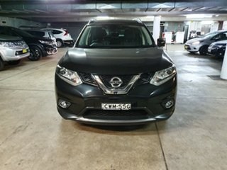 2014 Nissan X-Trail T32 Ti X-tronic 4WD Black 7 Speed Constant Variable Wagon.