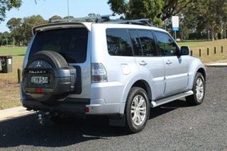 2014 Mitsubishi Pajero VR-X Silver Sports Automatic Wagon.