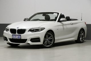 2018 BMW M240i F23 MY18 M240I White 8 Speed Automatic Convertible.