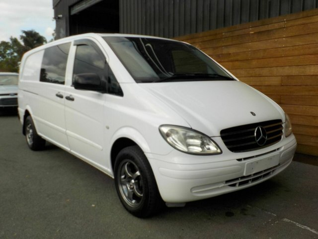 Used Mercedes-Benz Vito 639 MY09 115CDI Low Roof Extra Long, 2009 Mercedes-Benz Vito 639 MY09 115CDI Low Roof Extra Long White 5 Speed Automatic Van