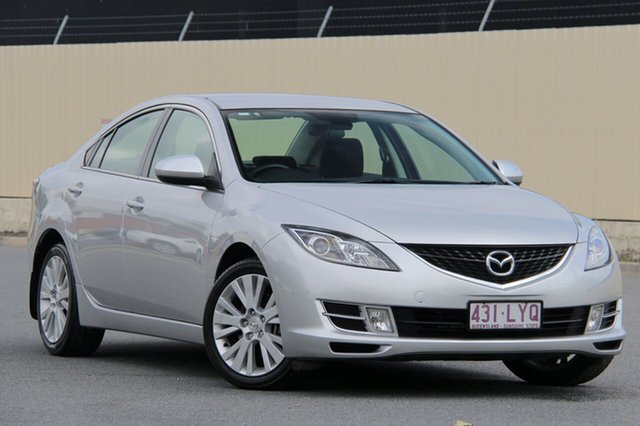 Used Mazda 6 GH1051 MY09 Classic, 2009 Mazda 6 GH1051 MY09 Classic Silver 5 Speed Sports Automatic Sedan