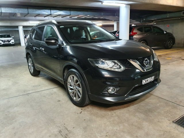 Used Nissan X-Trail T32 Ti X-tronic 4WD, 2014 Nissan X-Trail T32 Ti X-tronic 4WD Black 7 Speed Constant Variable Wagon