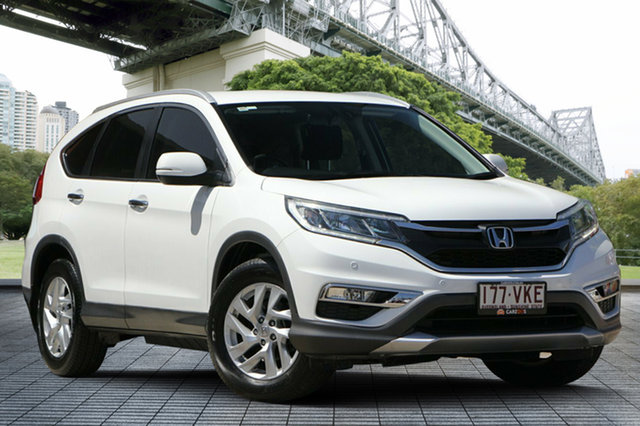 Used Honda CR-V RM Series II MY16 VTi-S, 2014 Honda CR-V RM Series II MY16 VTi-S Taffeta White 5 Speed Sports Automatic Wagon