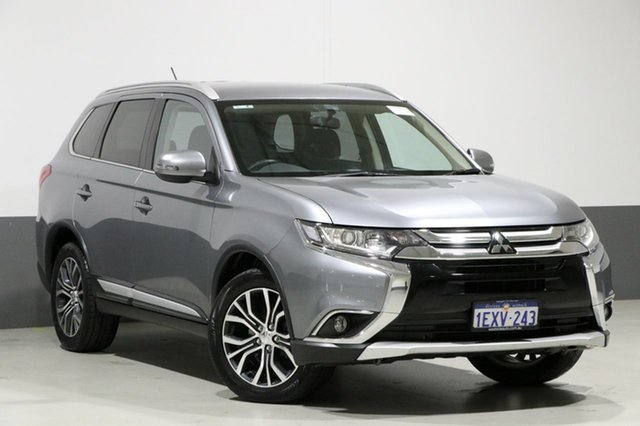 Used Mitsubishi Outlander ZK MY16 LS (4x4), 2015 Mitsubishi Outlander ZK MY16 LS (4x4) Silver Continuous Variable Wagon