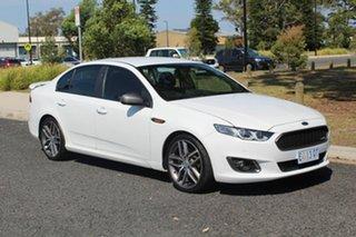 2014 Ford Falcon XR6 Turbo White Sports Automatic Sedan.