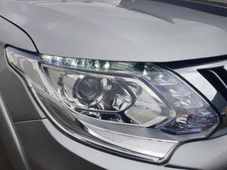 2016 Mitsubishi Triton MQ MY16 Exceed Silver Semi Auto Utility.