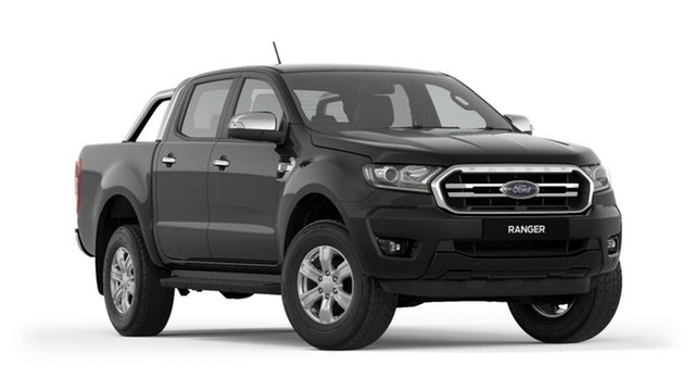 New Ford Ranger PX MkIII 2019.00MY XLT Pick-up Double Cab, 2019 Ford Ranger PX MkIII 2019.00MY XLT Pick-up Double Cab Shadow Black 6 Speed Sports Automatic