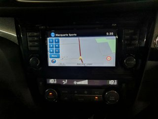 2014 Nissan X-Trail T32 Ti X-tronic 4WD Black 7 Speed Constant Variable Wagon