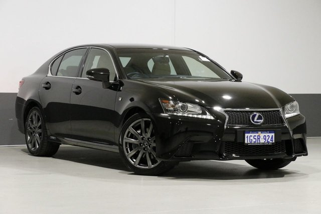 Used Lexus GS300H AWL10R MY14 Hybrid F Sport, 2013 Lexus GS300H AWL10R MY14 Hybrid F Sport Starlight Black Continuous Variable Sedan