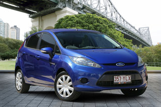 2012 Ford Fiesta WT CL PwrShift Blue 6 Speed Sports Automatic Dual Clutch Hatchback.
