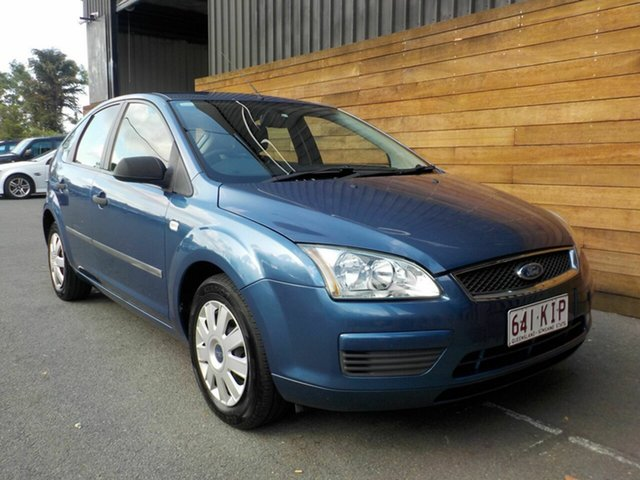 Used Ford Focus LS CL, 2007 Ford Focus LS CL Blue 5 Speed Manual Hatchback