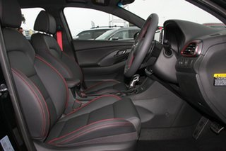 2018 Hyundai i30 PD.3 MY19 N Line D-CT Premium Phantom Black 7 Speed Sports Automatic Dual Clutch