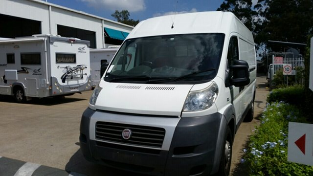 Used Fiat Ducato MY12 , 2012 Fiat Ducato MY12 White 6 Speed Manual Cab Chassis