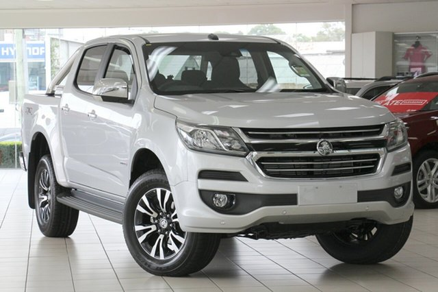 New Holden Colorado RG MY19 LTZ Pickup Crew Cab, 2018 Holden Colorado RG MY19 LTZ Pickup Crew Cab Nitrate Silver 6 Speed Sports Automatic Utility