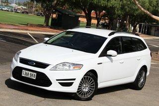 2011 Ford Mondeo MC LX PwrShift TDCi White 6 Speed Sports Automatic Dual Clutch Wagon.