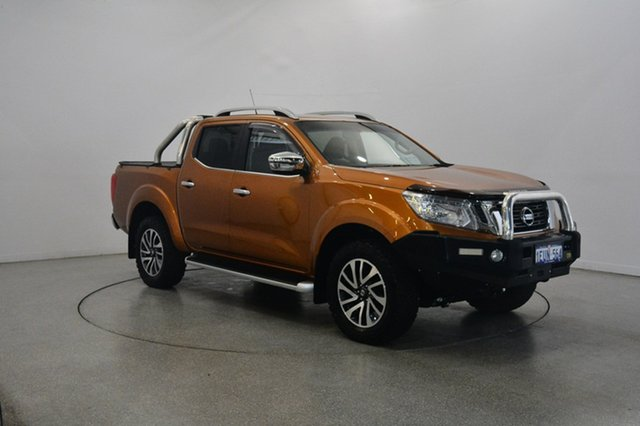 Used Nissan Navara D23 ST-X, 2015 Nissan Navara D23 ST-X Gold 6 Speed Manual Utility