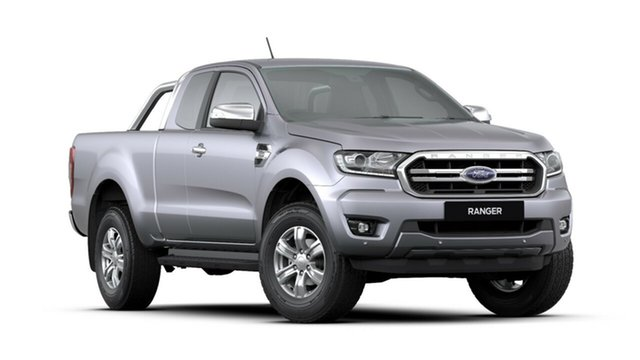 New Ford Ranger PX MkIII 2019.00MY XLT Pick-up Super Cab, 2018 Ford Ranger PX MkIII 2019.00MY XLT Pick-up Super Cab Aluminium 10 Speed Sports Automatic