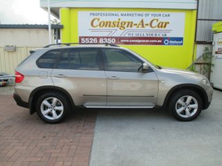 2008 BMW X5 E70 d Steptronic Gold 6 Speed Sports Automatic Wagon