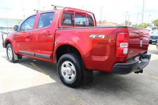 2012 Holden Colorado RG MY13 LX Crew Cab Red 5 Speed Manual Utility.