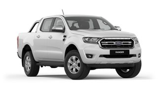 2018 Ford Ranger PX MkIII 2019.00MY XLT Pick-up Double Cab Frozen White 6 Speed Sports Automatic.