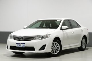 2014 Toyota Camry ASV50R Altise White 6 Speed Automatic Sedan.