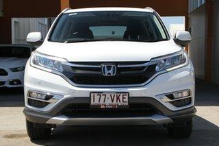2014 Honda CR-V RM Series II MY16 VTi-S Taffeta White 5 Speed Sports Automatic Wagon