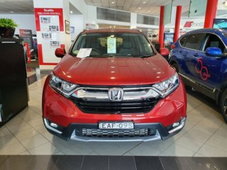 2017 Honda CR-V RW MY18 VTi-L FWD Passion Red 1 Speed Constant Variable Wagon.