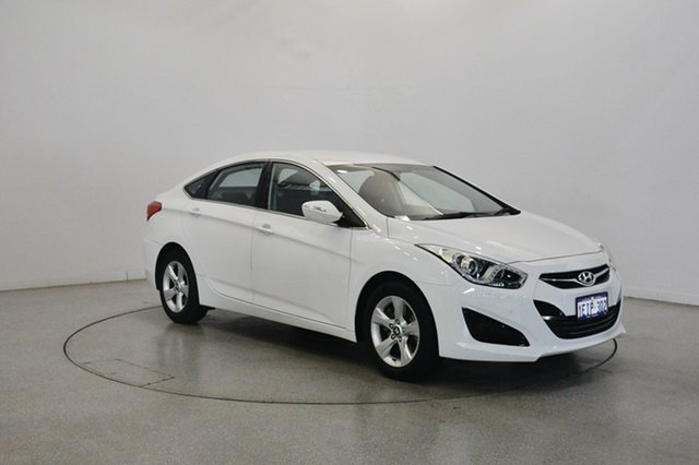Used Hyundai i40 VF2 Active, 2013 Hyundai i40 VF2 Active Ceramic White 6 Speed Sports Automatic Sedan