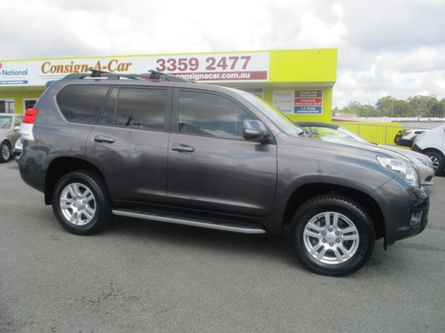 Used Toyota Landcruiser Prado KDJ150R VX, 2010 Toyota Landcruiser Prado KDJ150R VX Grey 5 Speed Sports Automatic Wagon