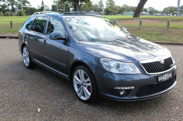 Used Skoda Octavia  , 2011 Skoda Octavia RS - 147TSI Grey Sports Automatic Dual Clutch Wagon