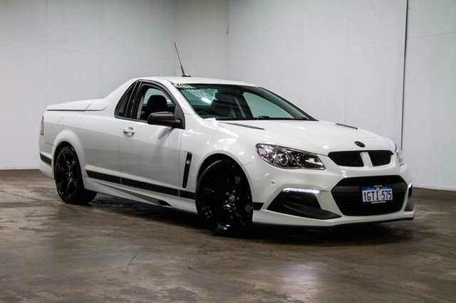 Used Holden Special Vehicles Maloo Gen-F2 MY16 R8 SV Black, 2016 Holden Special Vehicles Maloo Gen-F2 MY16 R8 SV Black White 6 Speed Sports Automatic Utility